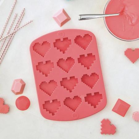 heart shaped candy mold