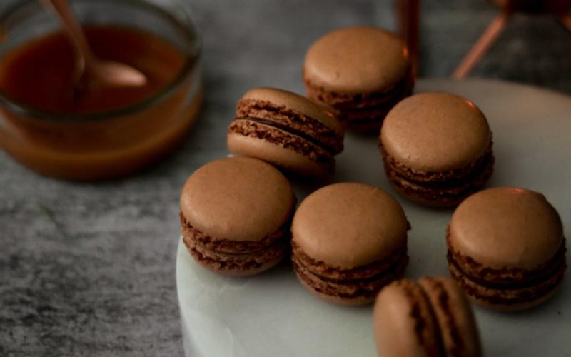 Salted Caramel Macarons Recipe