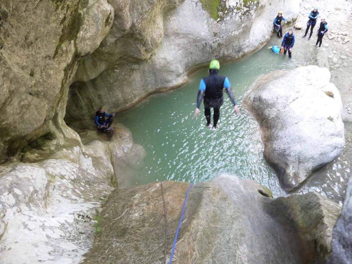 Clues et canyons des Alpes Maritimes