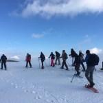 Randonnée en raquettes à Gréolières les neiges