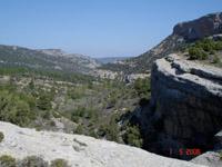 paysage sur le camino de Zahorejas