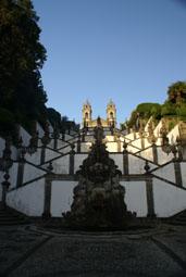 Fontaine des 5 plaies du Christ au pied de l'escalier des 5 sens