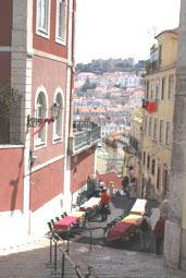 Bairo Alto: vue sur le chateau St George