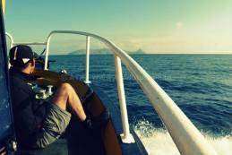 1er partie escapade de 3 jours à l'archipel de la Galite - vue sur mer