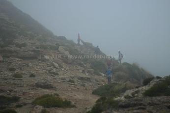 2ème partie escapade de 3 jours à l'archipel de la Galite - randonnée brouillard