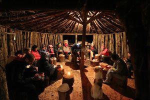 Weekend Randonnée Ain Soltan Feija - groupe diner