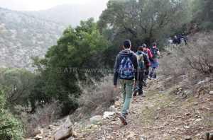 Circuit randonnée Sidi Medien à Zaghouan - fin de randonnée