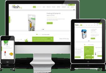 Freshcig Magento Store