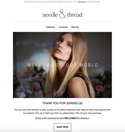Ecommerce Email Newsletter