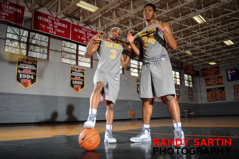 2014 MaxPrep's Preseason Top 10 Basketball Photo Shoot at Oak Hill, VA