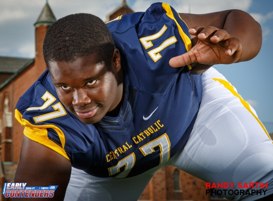 5-24-2016 MaxPreps Preseason Top 25 Photo Shoot at Central Catholic High School in Pittsburgh, PA.