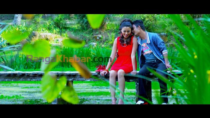 Harshika Shrestha and Vicky