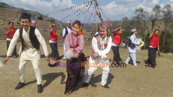 Wison bikram and Gita Rai