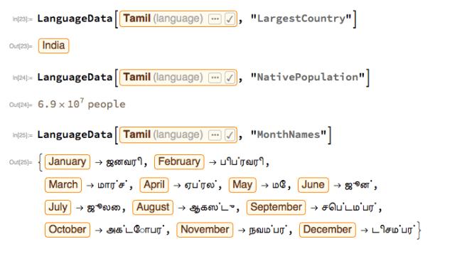 Language Data