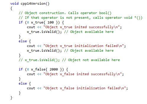 Pre-C++17 Usage