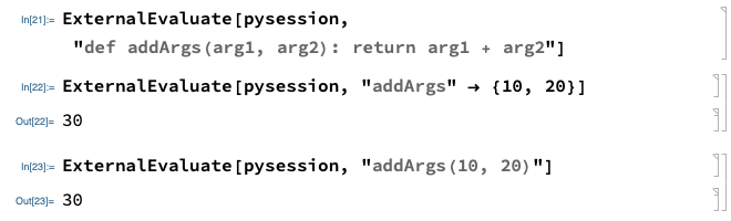 Function with 2 Arguments