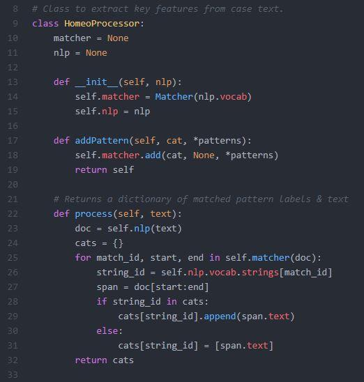 Information Extraction Using spaCy's Pattern Matcher : Rangarajan