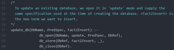 Code to Update