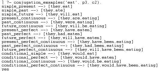 Full Conjugation - Example2