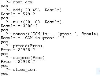 Prolog Session