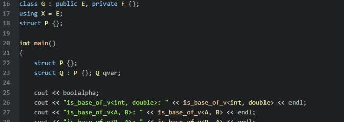 std::is_base_of<>