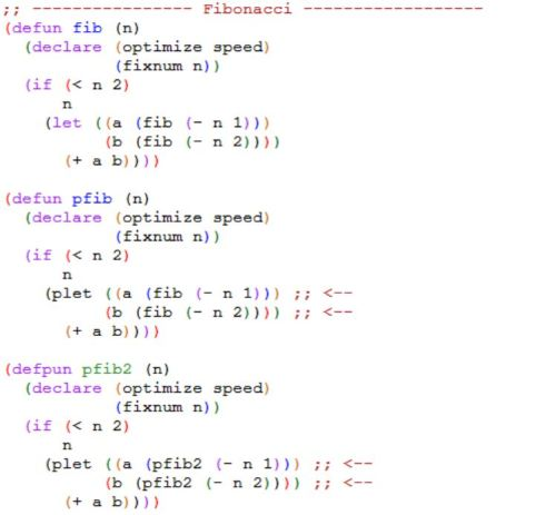 Calculating the Fibonacci Series