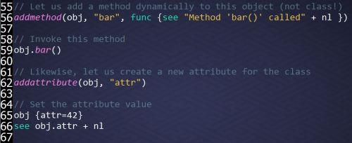 Reflection API Example