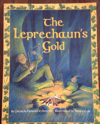 A great contemporary read aloud - The Leprechaun's Gold