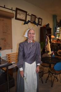 A kidnapped Puritan, gone a little batty...aka Jill!