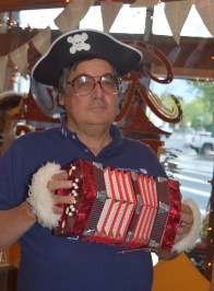 Yes, Howard sounded authentically piratical.