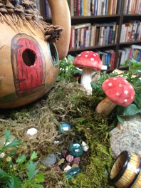 Another year for the fairy gourd house.