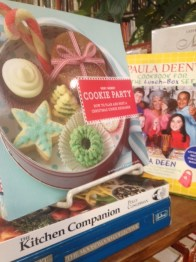Multitudes of cookbooks to go with the apron!