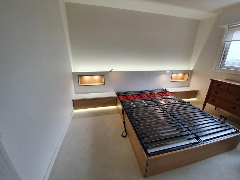 placard et tete de lit sur mesure a