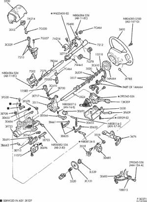 steering column  RangerForums  The Ultimate Ford Ranger Resource