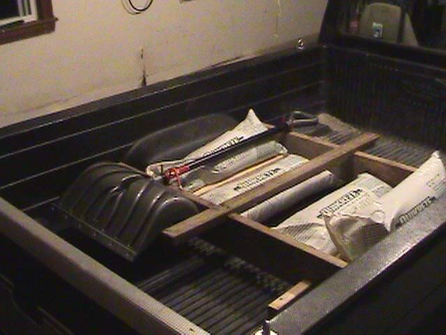 How To Weigh Down A Truck Bed For Winter