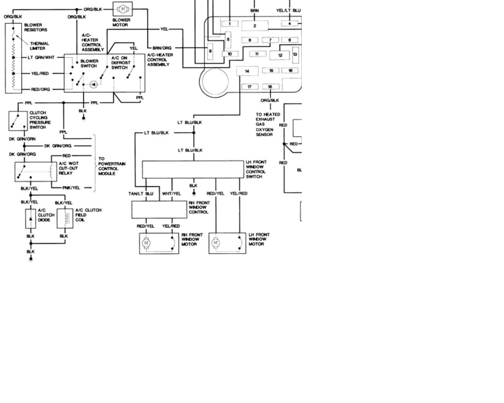 2002 ford explorer ac wiring diagram electrical ac problem ranger s the ultimate ford ranger pooptronica image