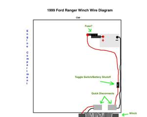 Winch Wiring  RangerForums  The Ultimate Ford Ranger