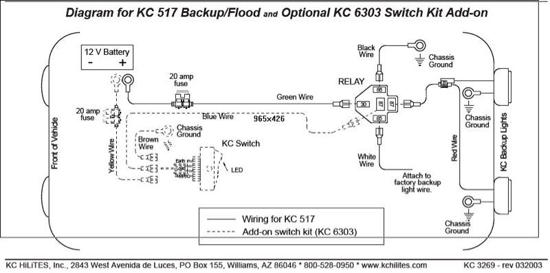 Collection Kc Light Wiring Diagram Pictures Wiring diagram schematic – Kc Hilites Wiring Harness