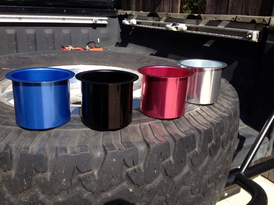 For Sale Anodized Aluminum Cup Holders Ca Ranger