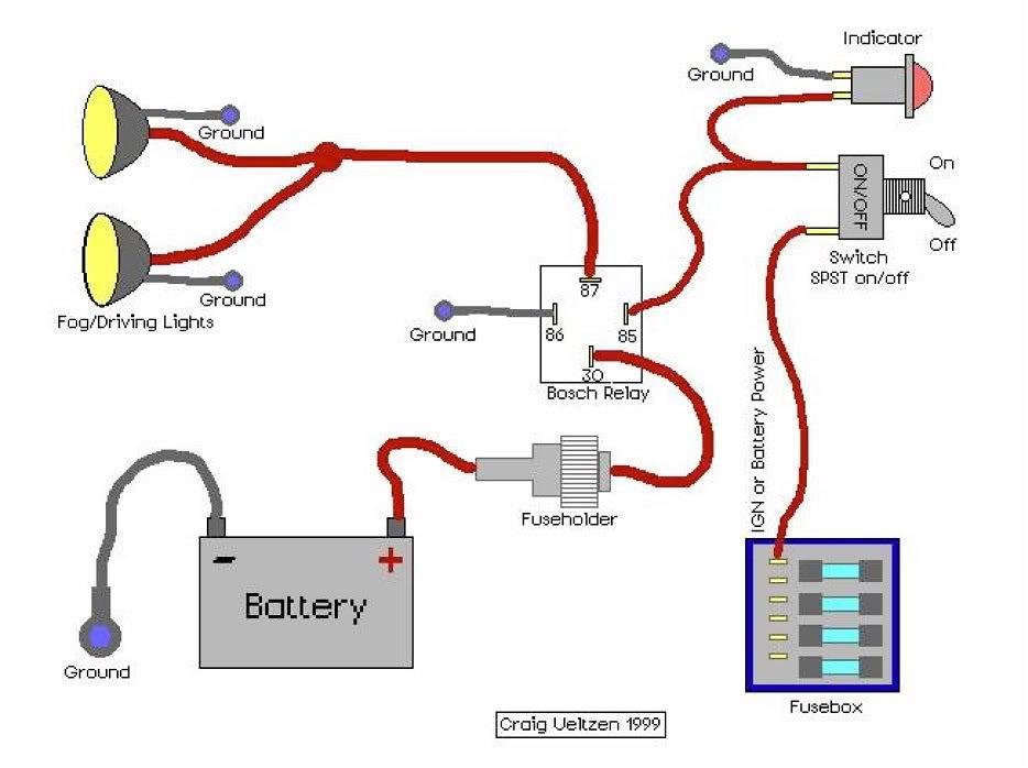 scrambler82 19333 albums aux light schematic writeup 1367 picture auxlight schematic 4 pin relay 13305?resize\=665%2C497 4 pin relay wiring diagram 4 wire relay \u2022 wiring diagrams j 4 pin relay wiring diagram at panicattacktreatment.co