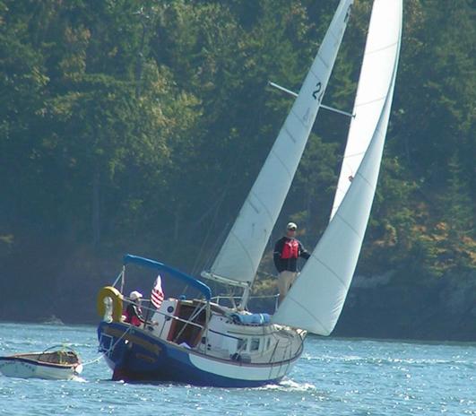 Spontaneity, Ranger 26 Sailboat