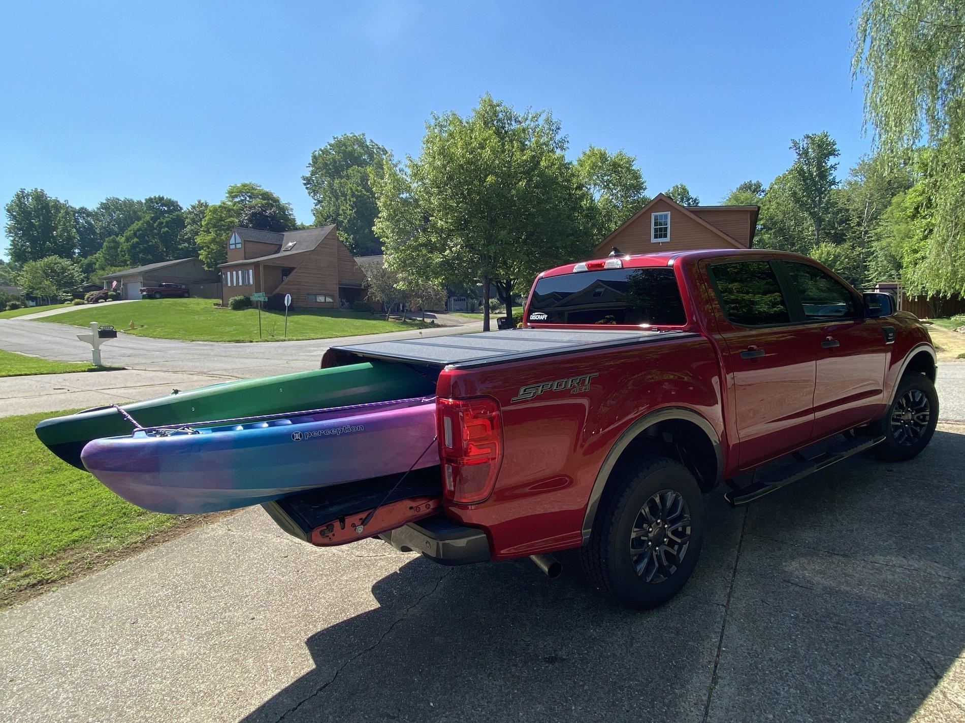 ranger kayak rack and bike rack options
