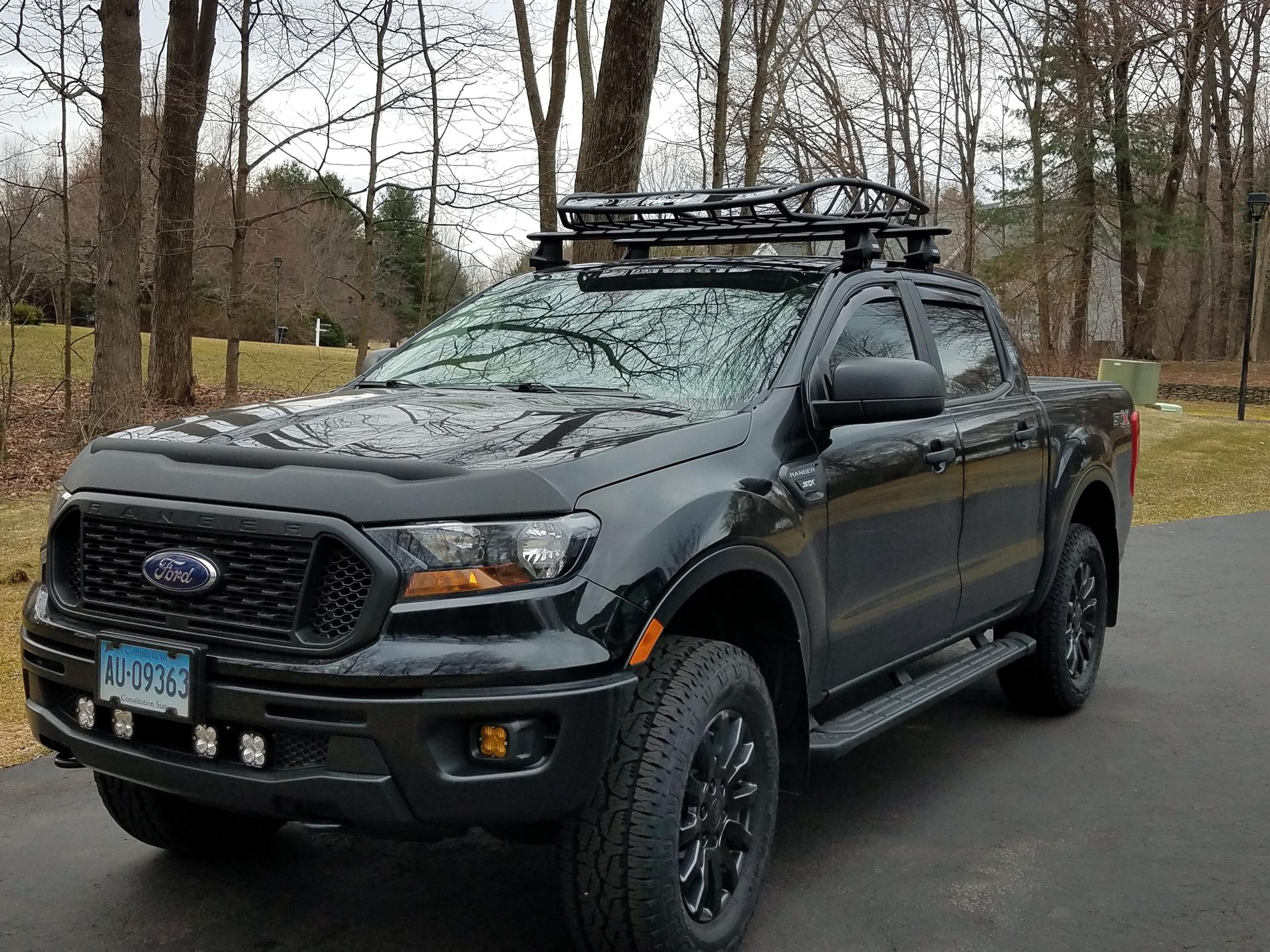 thule roof rack installed 2019 ford