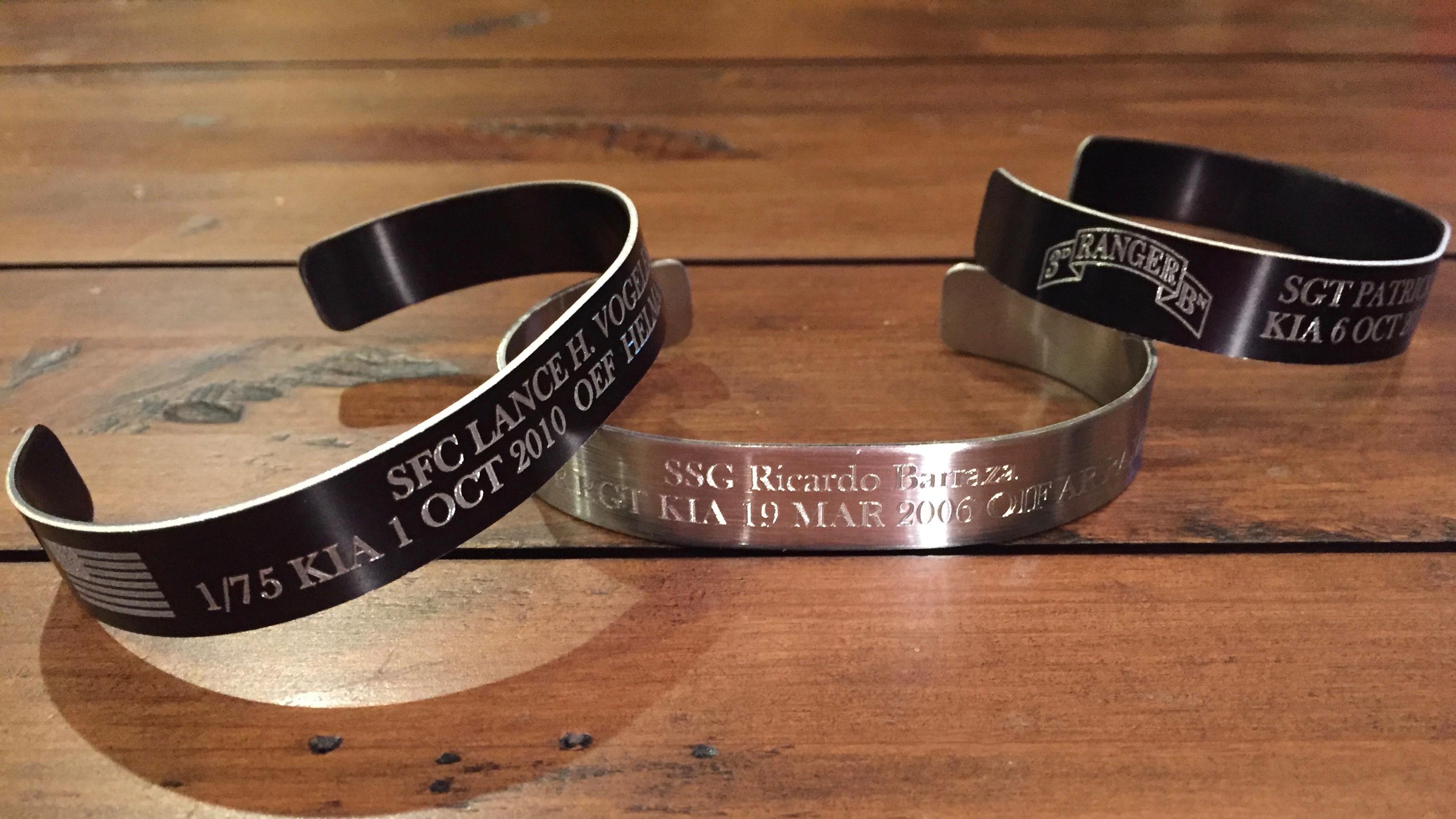 designs designsbycooties com rubber bracelet memorial male military fundraiser alert heroes wristbandemorial bracelets kia