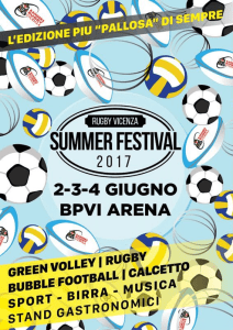 Rugby Vicenza Summer Festival 2017