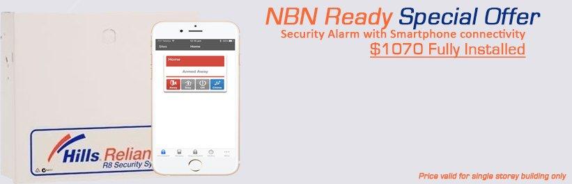 Security Alarm Nbn