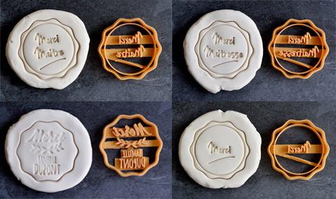 Emporte-pièce Merci Maîtresse La Boite à Cookies