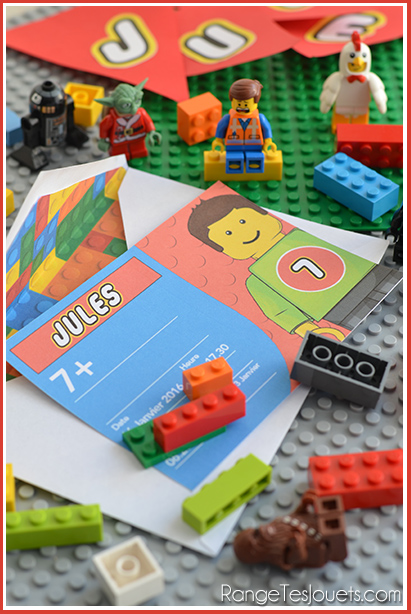 Tout Est Super Génial Anniversaire Lego Range Tes Jouets