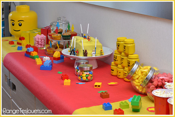 sweet,table,lego,birthday,party,