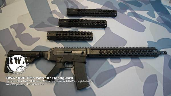 RWA 180B Rifle with 18-inch handguard